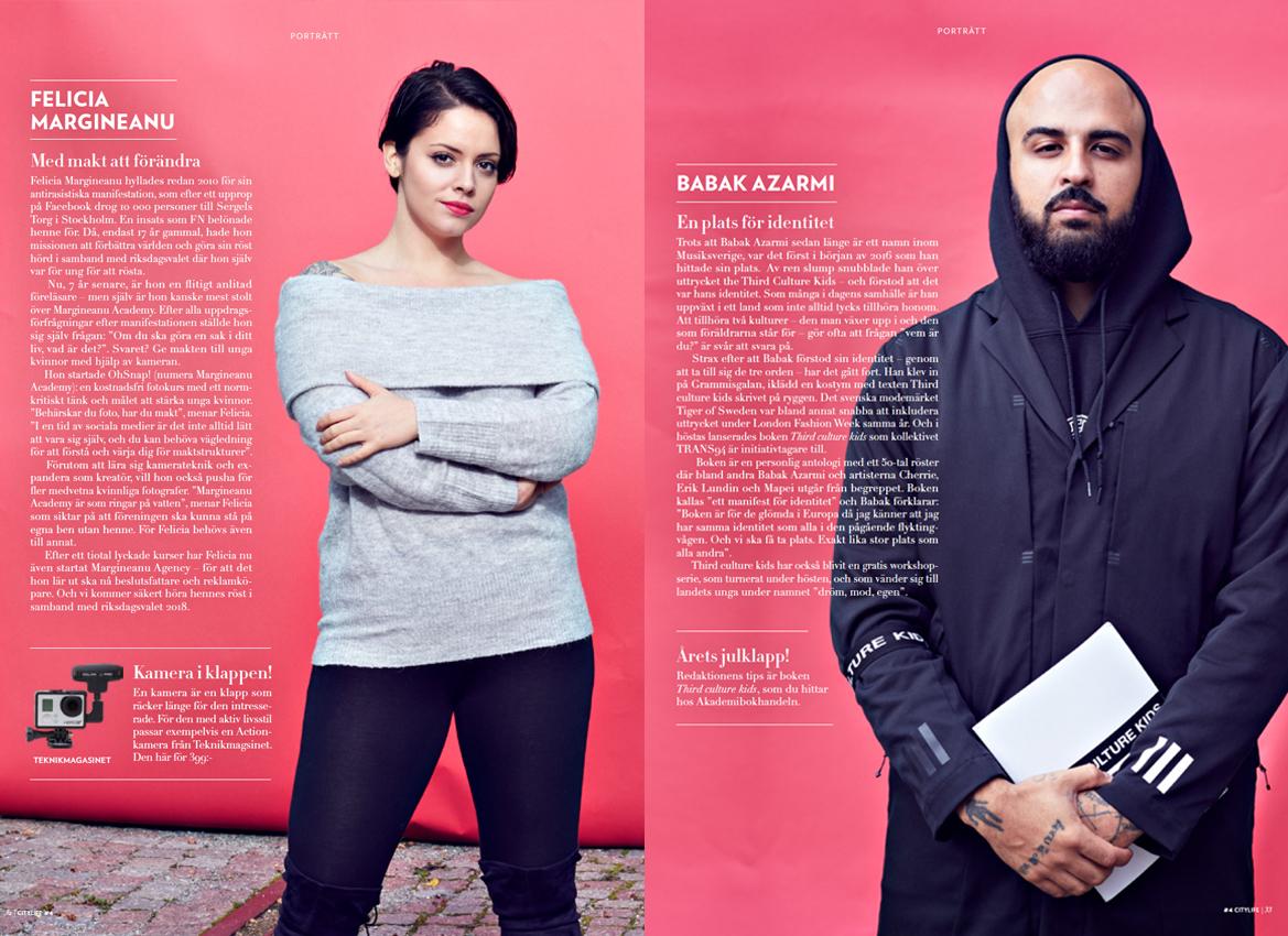 Babak Azarmi & Felicia Margineanu